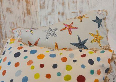 Lovely fabrics and soft furnishings